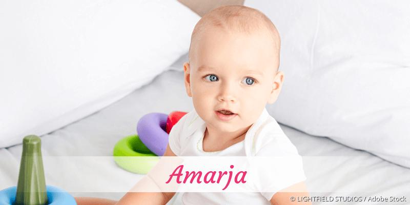 Name Amarja als Bild