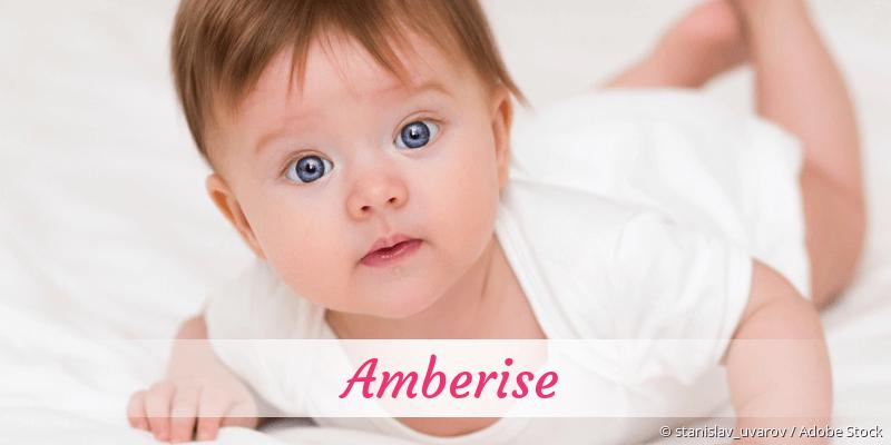 Name Amberise als Bild