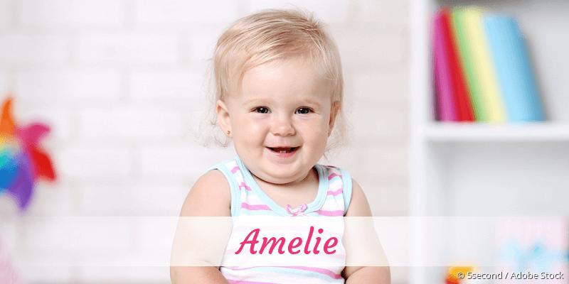 Name Amelie als Bild