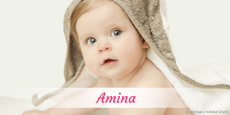 Name Amina als Bild