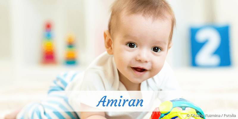Name Amiran als Bild