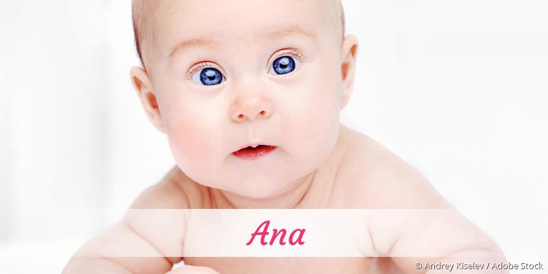 Name Ana als Bild
