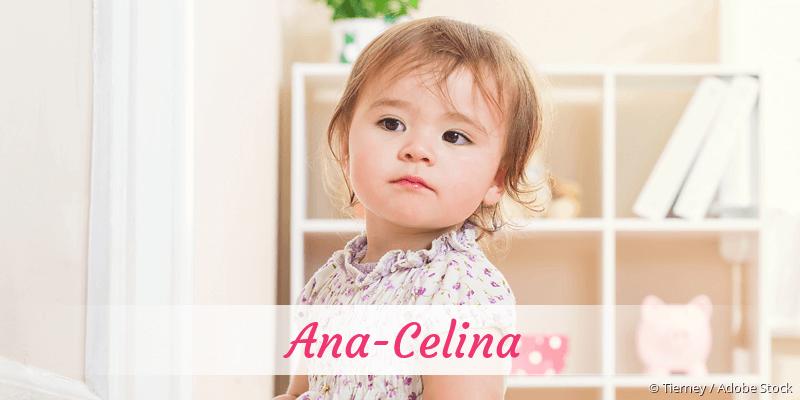 Name Ana-Celina als Bild