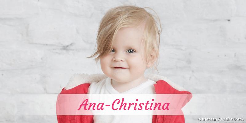 Name Ana-Christina als Bild