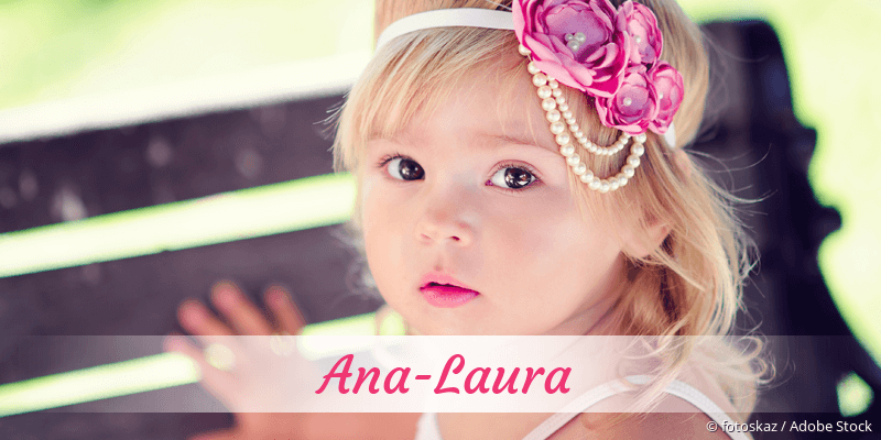 Name Ana-Laura als Bild
