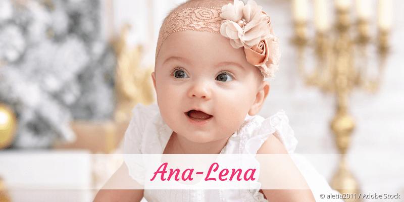 Name Ana-Lena als Bild