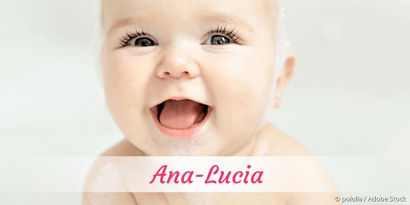Name Ana-Lucia als Bild