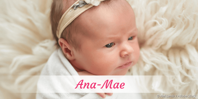 Name Ana-Mae als Bild