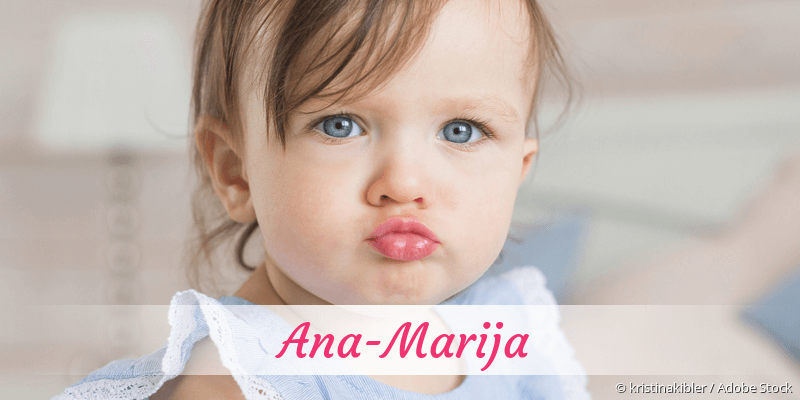 Name Ana-Marija als Bild