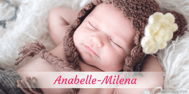 Name Anabelle-Milena als Bild