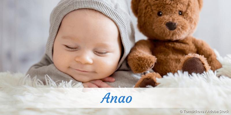 Name Anao als Bild