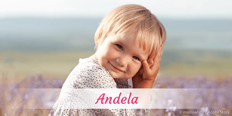 Name Andela als Bild