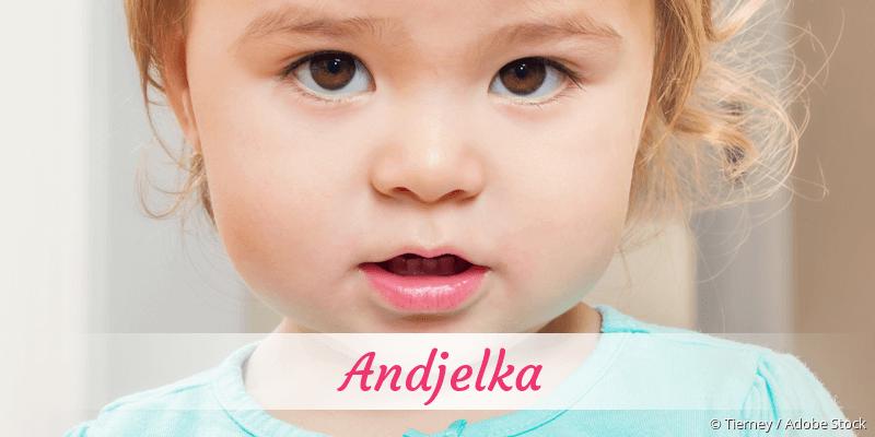 Name Andjelka als Bild
