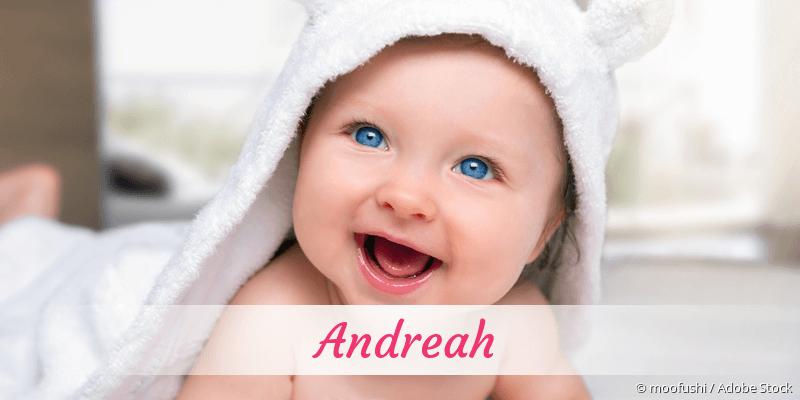 Name Andreah als Bild