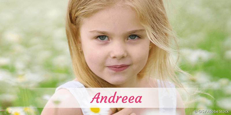 Name Andreea als Bild