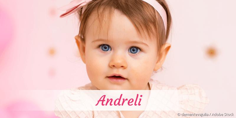 Name Andreli als Bild