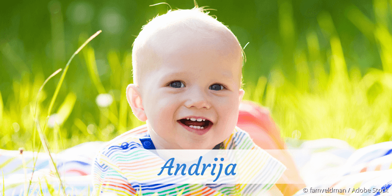 Name Andrija als Bild