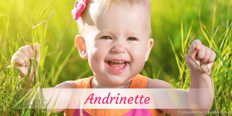 Name Andrinette als Bild