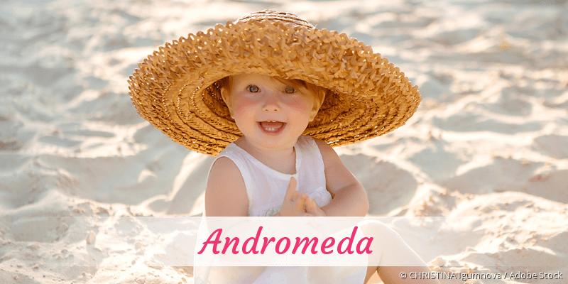 Name Andromeda als Bild