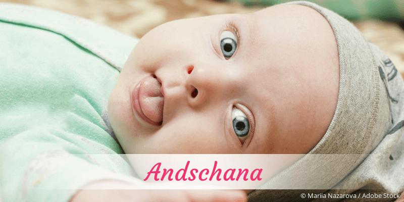 Name Andschana als Bild