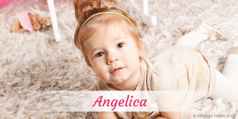 Name Angelica als Bild