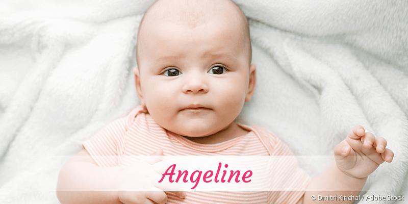 Name Angeline als Bild