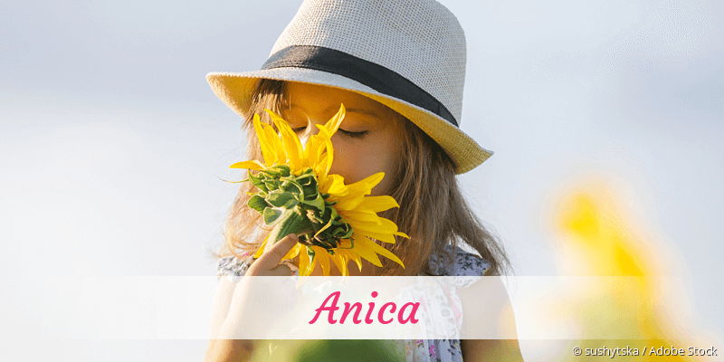 Name Anica als Bild