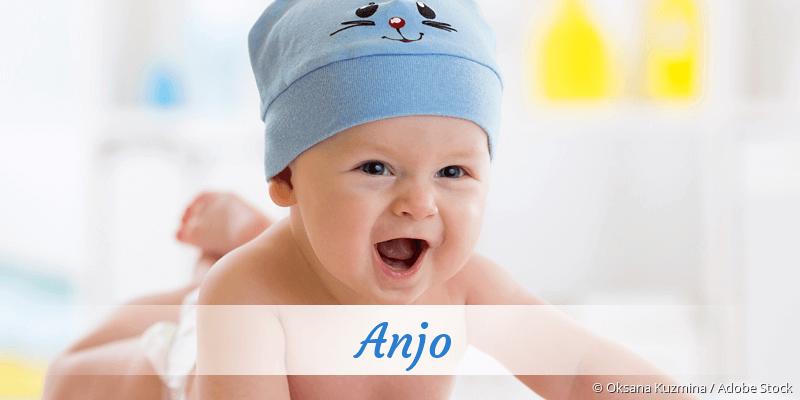 Name Anjo als Bild