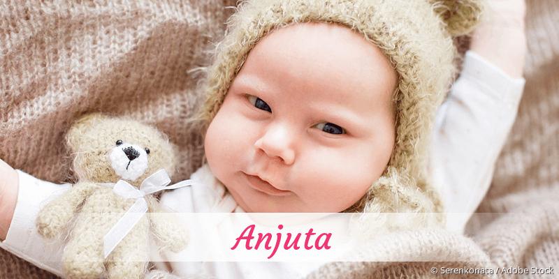 Name Anjuta als Bild