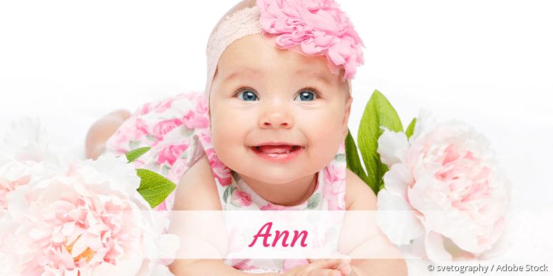 Name Ann als Bild