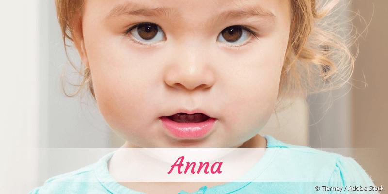 Name Anna als Bild