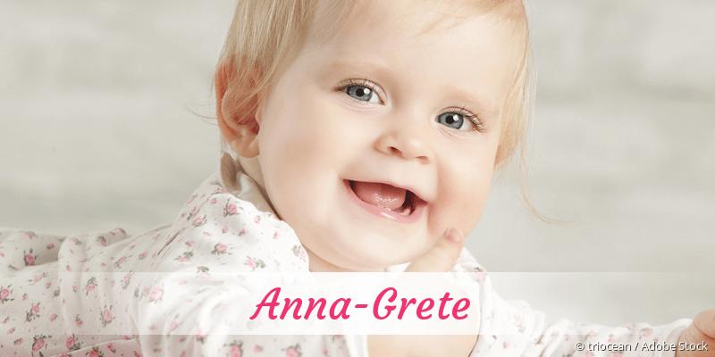 Name Anna-Grete als Bild