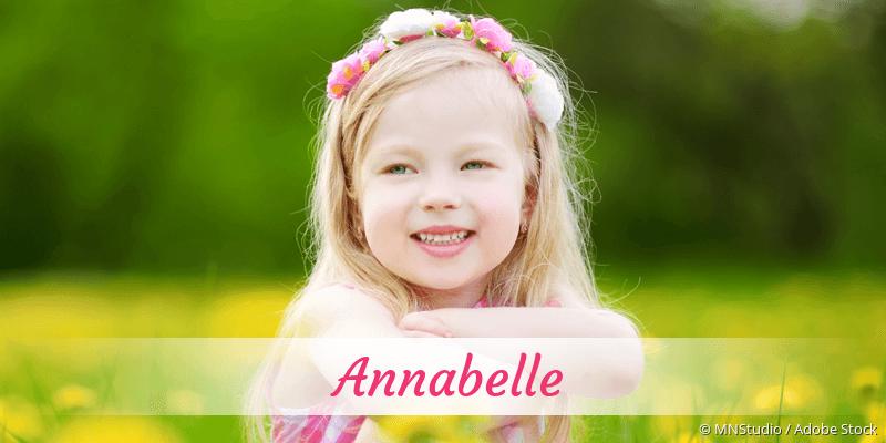 Name Annabelle als Bild