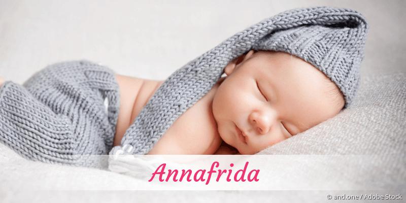 Name Annafrida als Bild