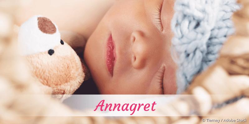 Name Annagret als Bild