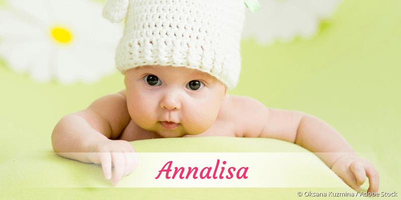 Name Annalisa als Bild