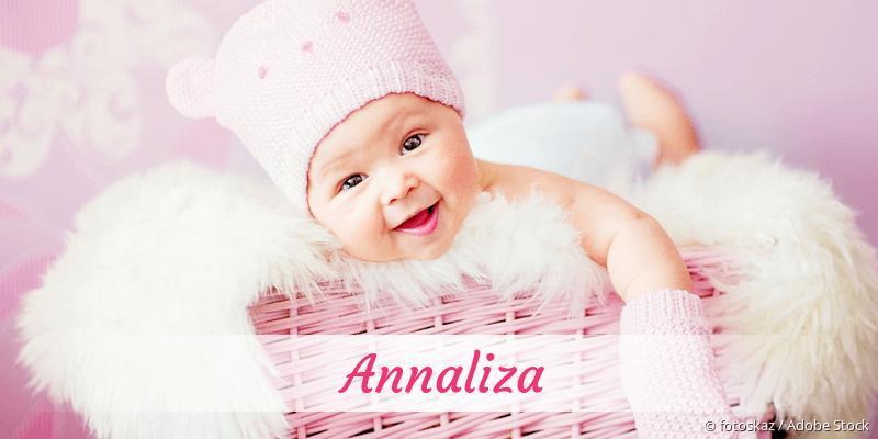 Name Annaliza als Bild