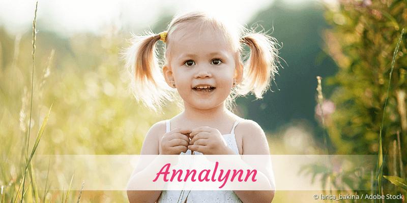 Name Annalynn als Bild