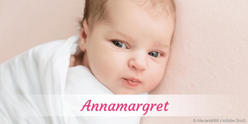 Name Annamargret als Bild
