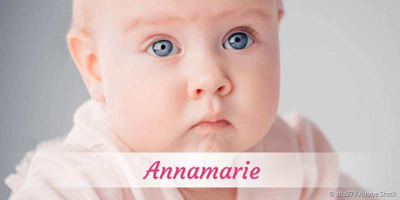 Name Annamarie als Bild