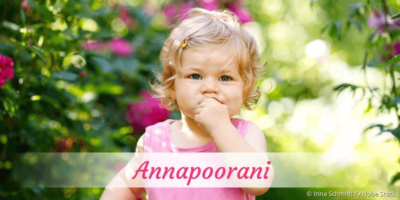 Name Annapoorani als Bild