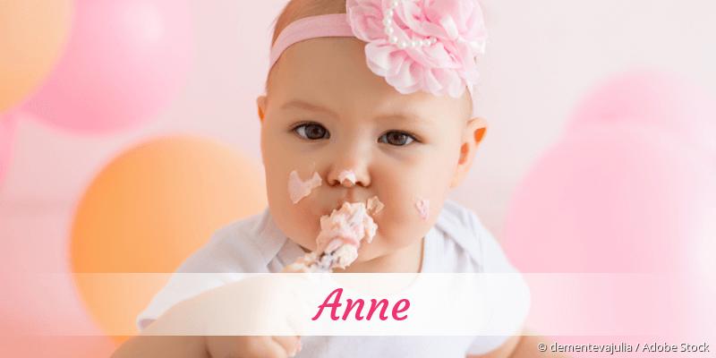 Name Anne als Bild