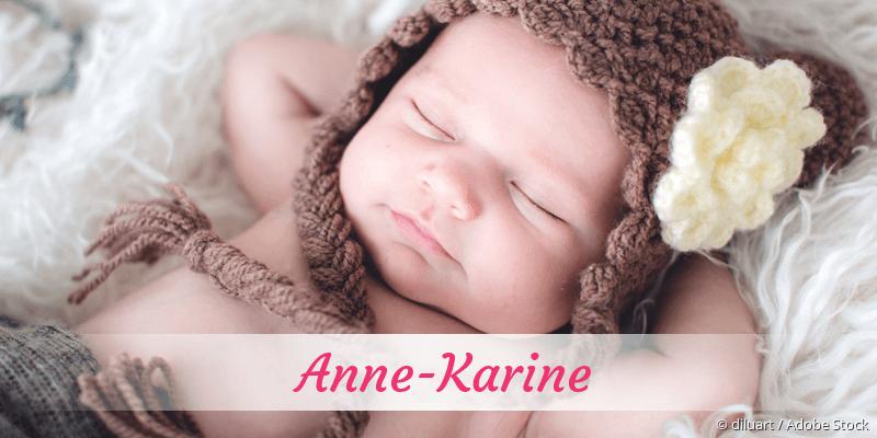 Name Anne-Karine als Bild