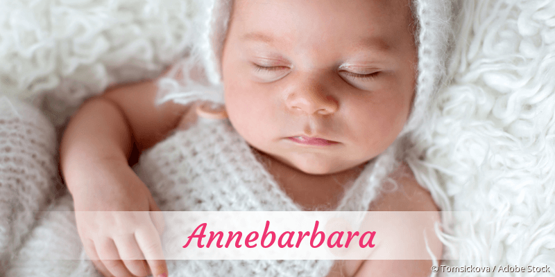 Name Annebarbara als Bild