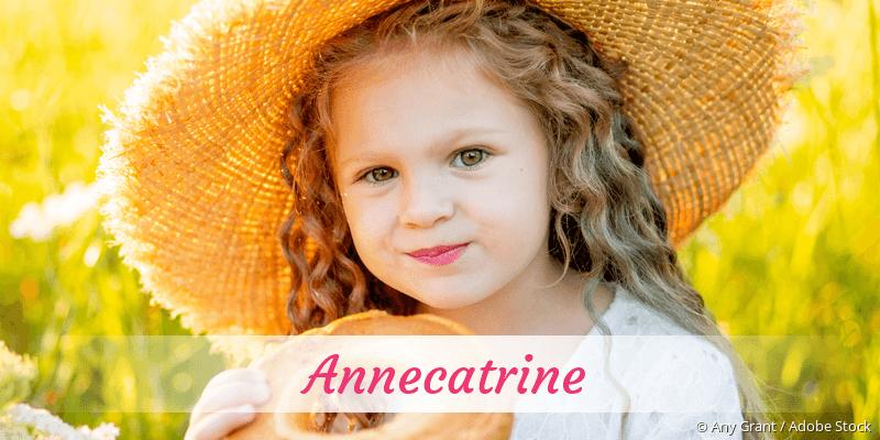 Name Annecatrine als Bild