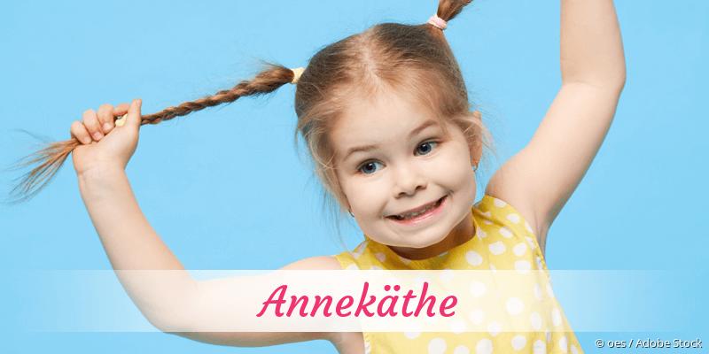 Name Annekäthe als Bild