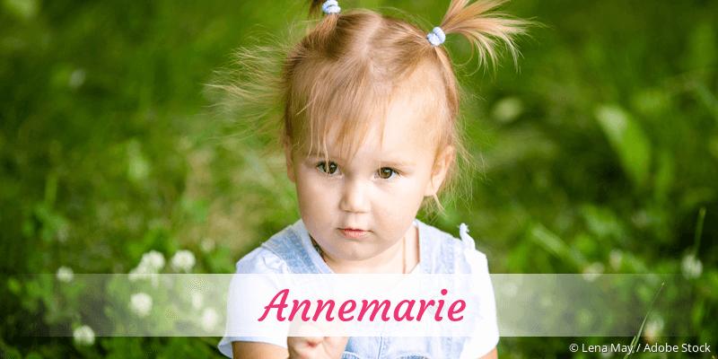 Name Annemarie als Bild
