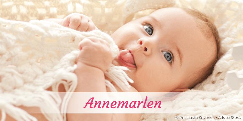 Name Annemarlen als Bild