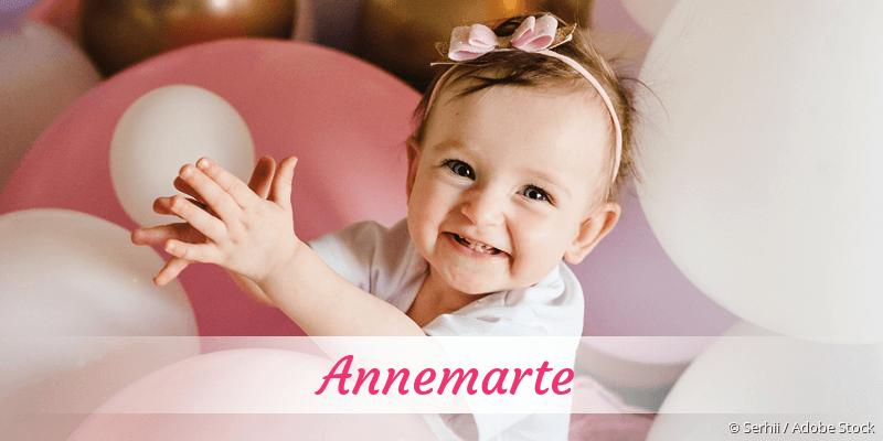 Name Annemarte als Bild