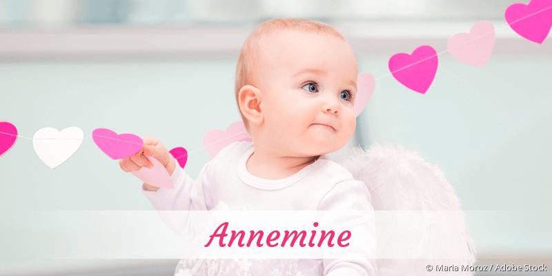 Name Annemine als Bild